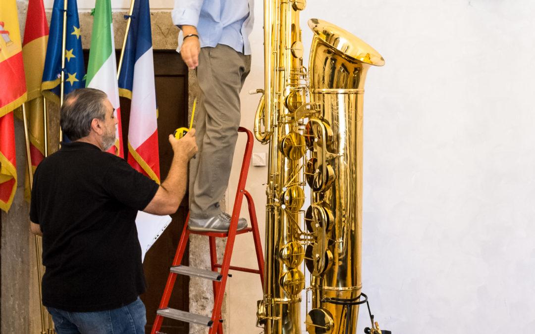 Saxofono sub-contrabasso J'Elle Stainer
