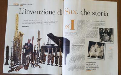 """""""L'invenzione di Sax, che storia"""" da LEFT"""
