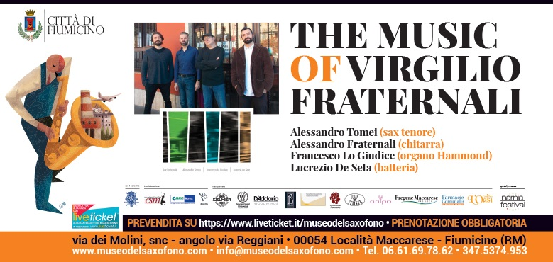 THE MUSIC OF VIRGILIO FRATERNALI – Sabato 1 agosto 2020