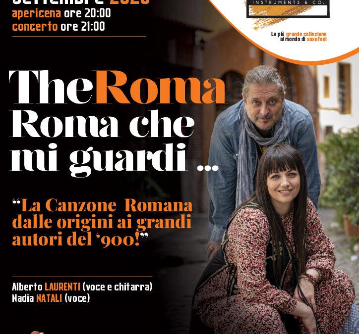 The Roma- Roma che mi guardi… sabato 26 settembre 2020