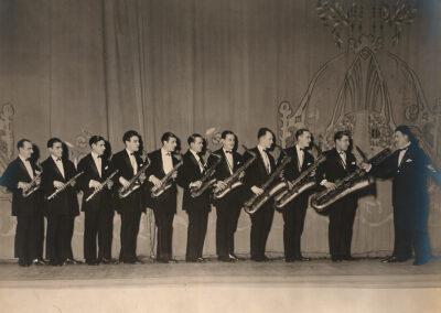 Anonima orchestra di saxofoni