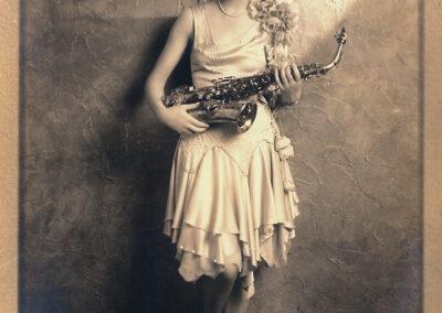 Donna con sax
