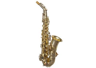 sax soprano curvo Buescher True Tone Artist