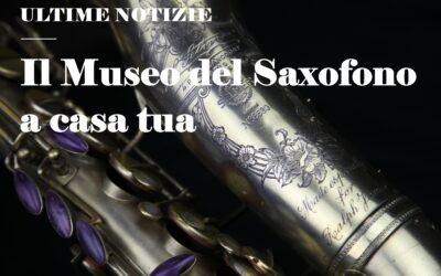 Il Museo del Saxofono apre le visite virtuali