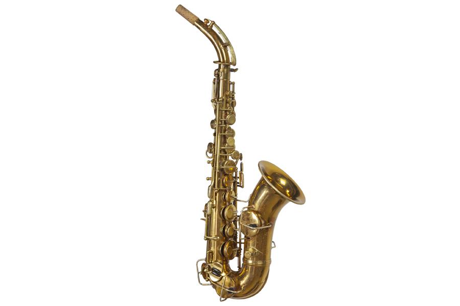 sax soprano curvo Conn New Invention in LA